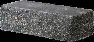 Кирпич декоративный угловой черный