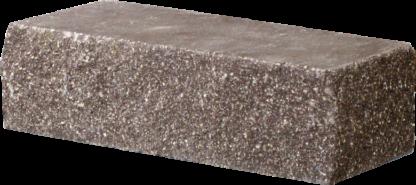 Кирпич декоративный угловой коричневый