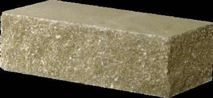 Кирпич декоративный угловой оливковый