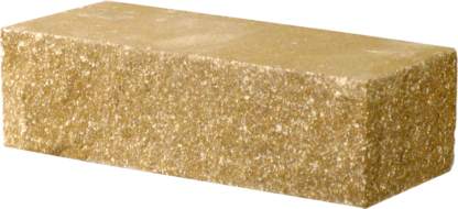 Кирпич декоративный угловой желтый