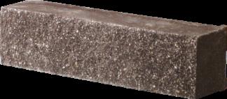 Кирпич декоративный угловый половинка корычневый