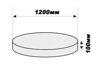Плита железобетонная 1 м